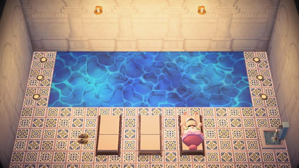 プール あつ 森