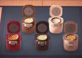 【全5種類】炊飯器の色によって、中身が全部違う!【リメイク不可】