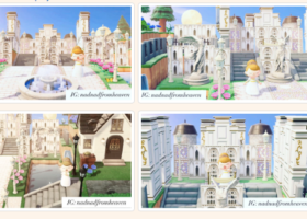 【お城・城下町】みんなが作ったお城が素敵!参考にしたい!【島クリまとめ】